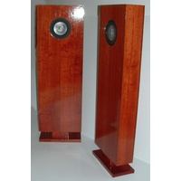 Fully finished solid timber JORDAN Transmission Line Speakers (pair)