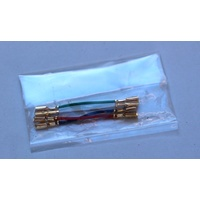 AUDIO TECHNICA Gold plated headshell leads (set of 4)