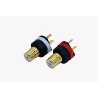 Female RCA connector (1 pair)