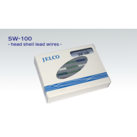JELCO SW-100 pure silver headshell leads Rhodium plated terminals