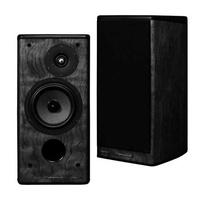 WHATMOUGH P15 Standmount Speakers - Piano Graphite