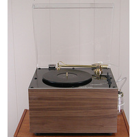LORICRAFT PRC6 EVO Walnut or Cherry finish record cleaning machine