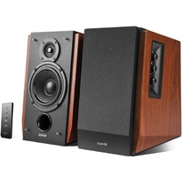 EDIFIER R1700BT active bookshelf speakers Woodgrain