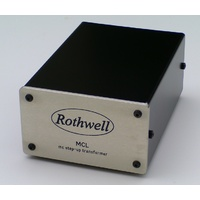 ROTHWELL  moving coil step-up transformer