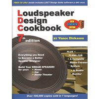 LOUDSPEAKER DESIGN Cookbook by Vance Dickason 7th Edition