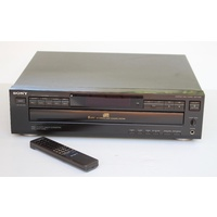 sh SONY CDP-C325 5 disc CD player