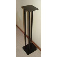 Speaker stands 90cm 3-pole black (pair)