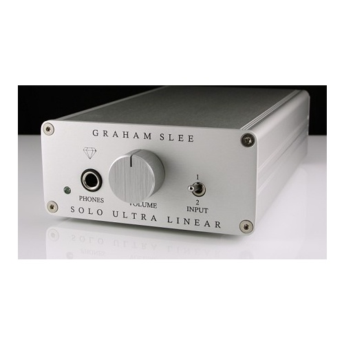 GRAHAM SLEE  Solo Ultra-Linear Headphone Amplifier with PSU1 (Diamond Edition)