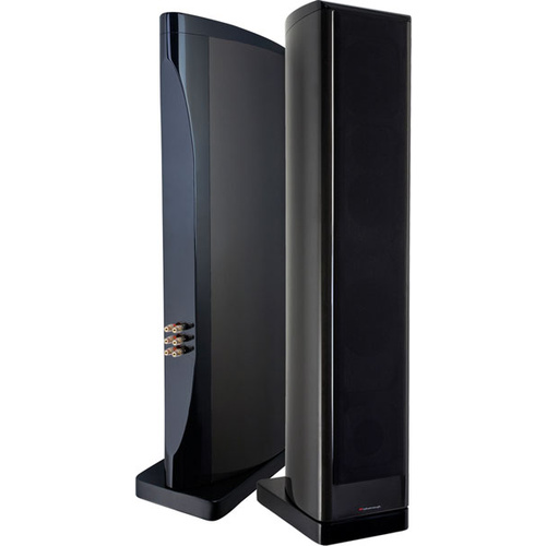 WHATMOUGH P33 Floor Standing Speakers - Piano Graphite
