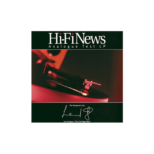 Hi Fi News Analogue Test LP